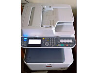 All In One Printer Scanner Copier Fax Colour Duplex Printer OKI MC562dnw