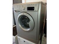 Indesit IWDE7145K 7kg 5kg 1400rpm Freestanding Washer Dryer in Silver