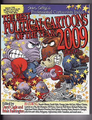 BEST POLITICAL CARTOONS OF THE YEAR 2009 Edition