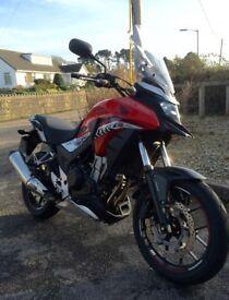 Honda CB500X for sale. 2016. VGC. Very low mileage.