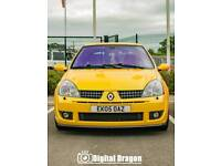 Renault Clio 182 Renaultsport 2.0 Liquid Yellow