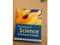 Undergraduate/Education/Teaching: The Teaching of Science in Primary Schools - Wynne Harlen