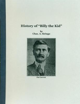 History Of  Billy The Kid