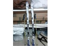 Fischer skis v200 with poles