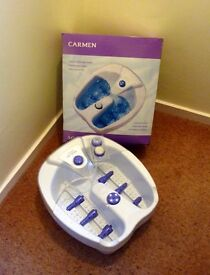 NEW UNWANTED Carmen Foot Spa