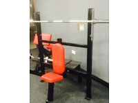 OLYMPIC SHOULDER PRESS BENCH FORSALE!!