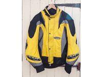 large size, Scott leather Cordora moter bike jacket
