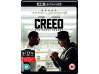Creed 4k blu ray in good condition