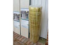 Laminate flooring 6.5m². //Acoustic underlay – 7.5m²