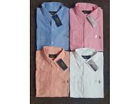 Ralph Lauren Men's Oxford shirt UK Stock 4 colours any size, text order FREE DELIVERY.