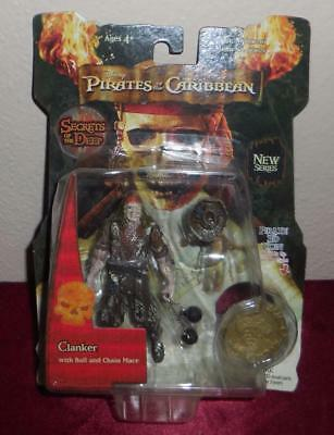 Disney Pirates of the Caribbean Secrets of the Deep Clanker figure with 3D coin