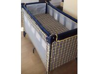 Travel Cot, Changing Mat, Cradle.