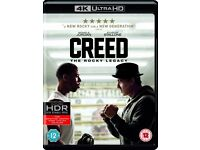 Creed 4k blu ray movie and film brand new sealed
