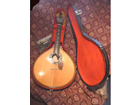 Portuguese Guitar Lisboa style with accessories