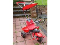 Smart-Trike SmarTrike Red with box and tools, good condition