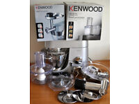 KENWOOD CHEF TITANIUM KM010 FOOD PROCESSOR & ACCESSORIES