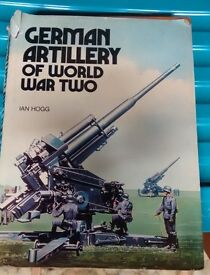 Military hardback book - German Artillery
