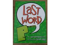 The Last Word Board Game