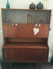Reduced 1950's style wall unit