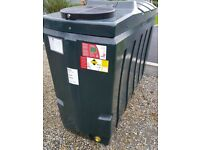 New Kingspan 1000 litre oil tank bunded lockable cost 1600