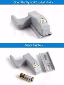 Universal Cabinet Cupboard Close Wardrobe Inner Hinge LED Sensor Light System