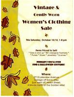 Vintage and Gently Worn Women's Clothing