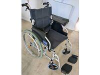 Aidapt Lightweight Aluminium Self-Propelled Wheelchair no offers