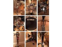 Yamaha 6-Piece Stage Custom Drum Kit (With Cymbals, Hardware & Accessories)