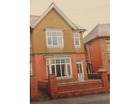 Three bedroom spacious end terrace period house in the popular area of Griffithstown