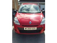 Renault Clio 1.2 59 plate