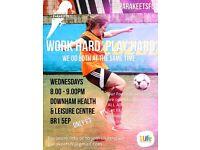 Women's Ladies Football Club - Train Wednesday nights - ALL ABILITIES