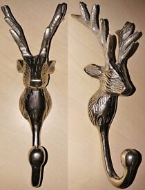 SPRING CLEAR (STEEL STAG HEAD HOOK, STAG WALL CLOCK, AND OWL HOOKS)