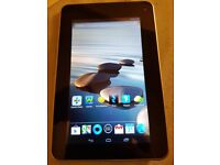 accer acoina 7 inch tablet on EE sim card