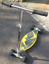 FUZION ASPHALT CARVING SKATEBOARD SCOOTER