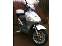 Piaggio Fly 125cc, very reliable runner