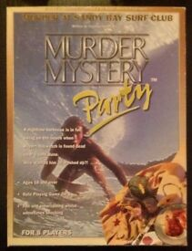 Murder Mystery Party 'Murder At Sandy Bay Surf Club' 1999 Audio Cassette Game (new)