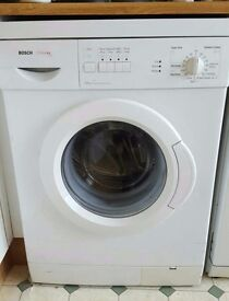 Bosch Classixx 1000 washing machine, runs with minor issues