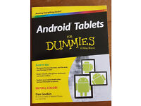 """""""Android Tablets for Dummies"""" book"""