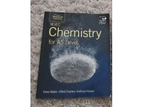 WJEC Chemistry AS Level Textbook