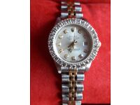 USED LADIES ROLEX OYSTER PERPETUAL DATEJUST CHRONOMETER WATCH