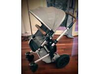 Joolz Day pram with all accessories (Earth model. Elephant grey)