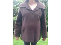 Maternity Brown Jacket Size 16