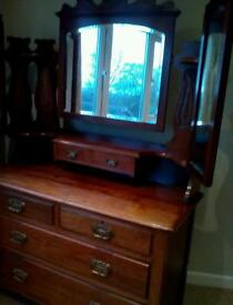 Victorian Dressing Table Vintage