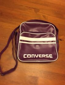 Converse messenger bag - purple - Immaculate condition