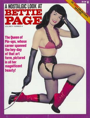 A NOSTALGIC LOOK AT BETTIE PAGE Magazine for sale  Shipping to India