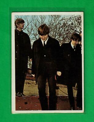 The Beatles US Original Topps 1960 s Color Cards Bubble Gum Card 42 - $4.00