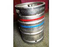 Coors 50 litre Beer or Lager Keg Empty Probably Stainless Steel Very Clean NO DAMAGE