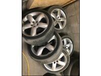 "5x Peugeot 18"" alloys wheels 5 STUD dispatch, expert, scudo fiat, Citroen"