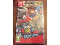 Super Mario odyssey Nintendo switch (brand new, sealed)