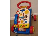 Tess Toys - Vtech Baby Walker Older Design Great Condition and excellent working order. £14 ONO